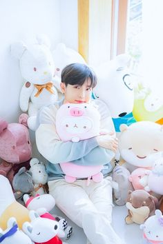 Kim Jaehwan, Ji Sung, Dinosaur Stuffed Animal, Toys, Idol, Korean, Group, Random, Activity Toys