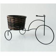 (5) Bicicleta Com Vaso Decorativa Metal Enfeite Jardim - R$ 29,99 no MercadoLivre