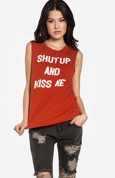 shut up and kiss me (kinda perfect for Valentine's Day, oui?)