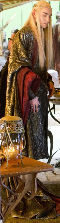 Lee Pace as Thranduil  The Hobbit: The Battle Of The Armies.