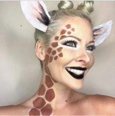 Diy giraffe costume pinterest giraffe halloween costumes and the cutest giraffe makeup for halloween diy halloween makeup by makeupartist411 halloween makeup ideas 2018 solutioingenieria Images