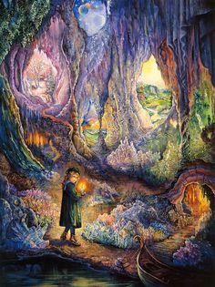 """""""Underworlds 2"""" par Josephine Wall"""