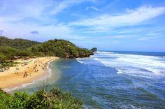 PERGIPEDIA  - Wisata Pantai Sundak Di Yogyakarta Dan Perkelahian Asu Dengan Landak . Selain dikenal sebagai Kota Gudeg, Yogyakarta juga m...