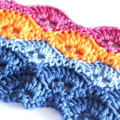 Create a Multicolor Crochet Border with Piercings, Makeup Wipes, Crochet Borders, Crochet Patterns, Winged Eyeliner, Eyeshadow Brushes, Knitted Blankets, T Rex, Travel Size Products