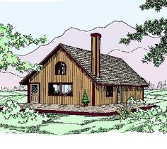 Classic Vacation Home Plan - 77302LD | Vacation, Narrow Lot, 1st Floor Master Suite, CAD Available, Loft, PDF | Architectural Designs