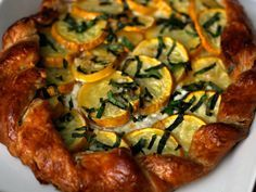 Dinner Tonight: Summer Squash and Ricotta Galette