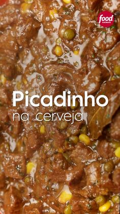 Picadinho na cerveja Receitas Gostosas – Yemek Tarifleri – Resimli ve Videolu Yemek Tarifleri Meat Recipes, Healthy Dinner Recipes, Appetizer Recipes, Mexican Food Recipes, Cooking Recipes, Oven Recipes, Cooking Ideas, Salty Foods, Portuguese Recipes