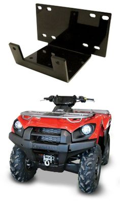 ProMark Offroad ATV Winch Mount for Kawasaki Brute Force 650 IRS / 750 Made in the USA. Fits most ATV and UTV Winches from 1500lb to 5000lb. Fits Kawasaki Brute Force 750 and 650 IRS. Heavy Duty Steel Construction. Does not Include Roller Fairlead.  #ProMark_Offroad #Home_Improvement