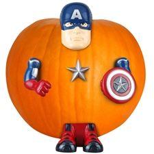 Pumpkin Push-In Kit - Captain America