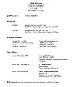 Resume CV Cover Letter. resume templates electrical draftsman. 3 ...