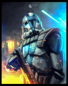 Star Wars: The Clone Wars - Clone Trooper by CharlesLogan.deviantart.com on @DeviantArt