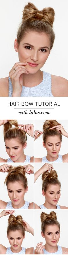 Love this! ** LuLu*s How-To: Hair Bow Tutorial