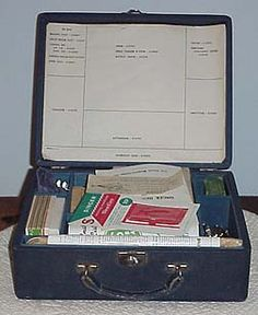Featherweight Sewing Machine Atachment Case