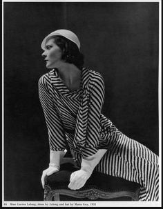 Princess Natalie Paley wearing Lucien Lelong 1920's