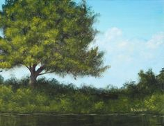 Trees are one of the most common elements in a landscape painting making them a fundamental part of your skill-set. Learn how to paint trees in acrylics with this easy-to-follow six-step tutorial and improve your painting today!