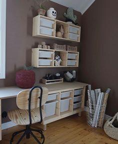 Big Boy Bedrooms, Girls Bedroom, Trofast Ikea, Playroom Storage, Ikea Playroom, Lego Room, Toy Rooms, Home Office Decor, Home Decor