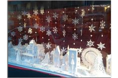 #papervillage #christmas #decor #natale #papersnowflakes