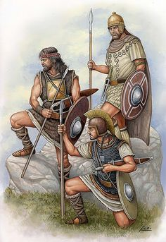 Celt Iberian warriors in Carthaginian service. The Spanish made up a significant…