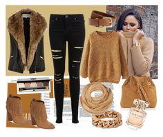 """Model style"" by edytamurselovic ❤ liked on Polyvore featuring moda, Miss Selfridge, River Island, Vanessa Bruno, Cynthia Vincent, Bobbi Brown Cosmetics, Elie Saab, STELLA McCARTNEY, H&M ve modern"
