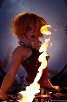 Captain Maggots blows minds once again.one of the few venues that allows fire… Arte Punch, Art Du Cirque, Breathing Fire, Circus Fashion, Pierrot Clown, Circo Vintage, Dark Circus, Fire Dancer, Night Circus