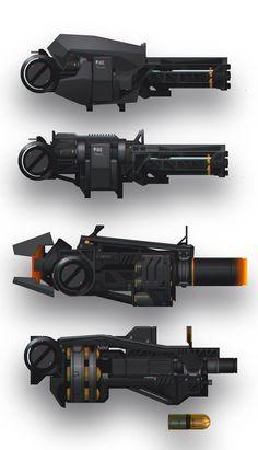 ArtStation - weapon, buffy wang