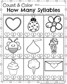 syllable count clap the syllables and color the correct number of syllables in each word hands. Black Bedroom Furniture Sets. Home Design Ideas