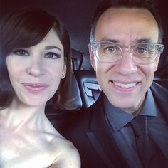 Carrie Brownstein & Fred Armisen 2014 Emmys