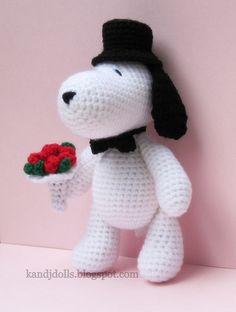 amigurumi dog pattern, via Flickr.