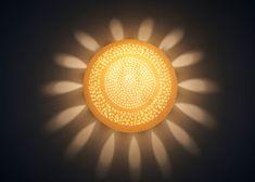 Lamp shade. Wall light fixture. Sconce by rachelnadlerceramics