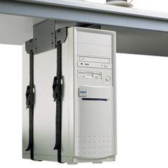 Image result for large Under Desk PC Holder