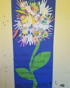 Mein 1. Kunstprojekt mit meiner 2. Klasse ist fertig. Die Kinder möge es…