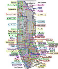 Manhattan_neighborhoods by pauljeremiah, via Flickr