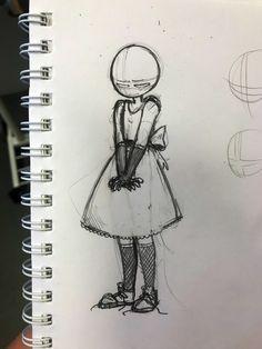 Anime Drawings Sketches, Cool Art Drawings, Pencil Art Drawings, Cute Art Styles, Cartoon Art Styles, Art Tutorials, Drawing Tutorials, Drawing Expressions, Art Poses