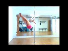 Ejercicios específicos de Pole Dance Fitness. - YouTube