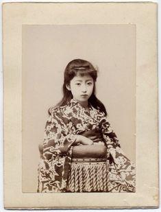 明治時代の日本女性