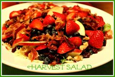 Sweet Tea and Cornbread: Harvest Salad! Made this for the 4 th was yummy will definitely make again