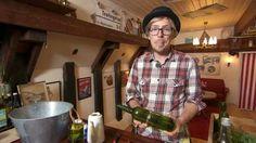 Anders Stålhand gör en självbevattnande kruka i Äntligen hemma