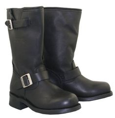 Xelement 2440 Womens Classic Motorcycle Advanced Engineer Biker Boot - 7 1/2 >>> Click image for more details.