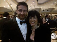 Twitter / GerardButler: with @Christiane Sallade Amanpour at the White ...
