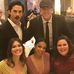 "Milo Ventimiglia, Chris Sullivan,Mandy Moore,Susan Kelechi Watson and Chrissy Metz ""This is Us"""