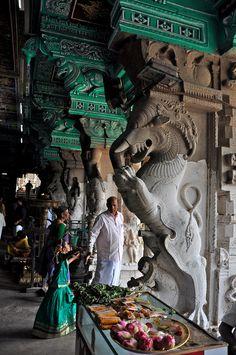 Temple in Madurai, Tamil Nadu / India