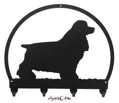 Cocker Spaniel Dog Metal Key Hanger New   eBay