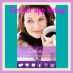 Get our App today for iPhone AND Android, get specials, earn rewards, refer a friend! #semedspa