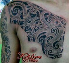 Motif Tattoo Dayak Creation