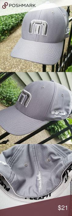 Gray Travis Matthew Flex Fit Hat L XL Gray Travis Matthew Flex Fit Hat L 71cda556506f