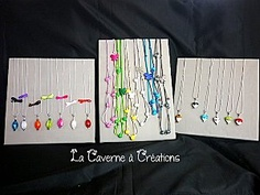 presentoir-bijoux-stand  La Caverne à Créations
