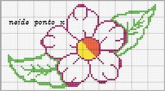 blog sobre ponto cruz e artesanatos. Beading Patterns, Embroidery Patterns, Cross Stitch Patterns, Broderie Bargello, Fillet Crochet, Swedish Weaving, Tapestry Crochet, Cross Stitch Flowers, Crochet Flowers