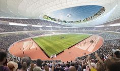 11 of the top architecture firms including zaha hadid, UNStudio and toyo ito have been shortlisted in the new national stadium japan competition. National Stadium, Tokyo 2020, Toyo Ito, Zaha Hadid, Competition, Japan, Architecture, Design, Arquitetura