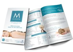 Spa Brochure Design  Brochures
