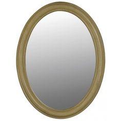 Belle Foret BF80043 Antique Parchment Vanity Mirror